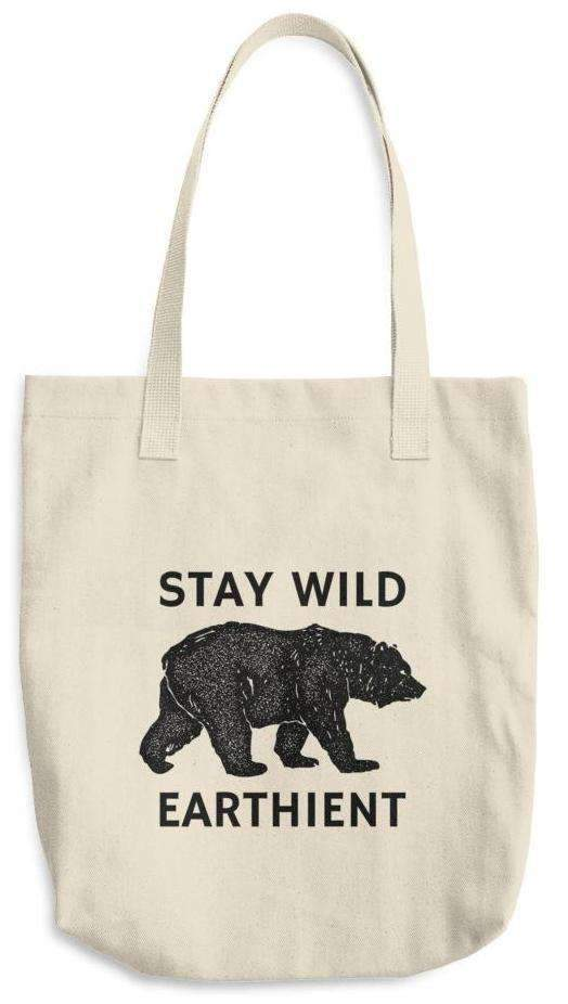 Stay Wild Cotton Tote Bag