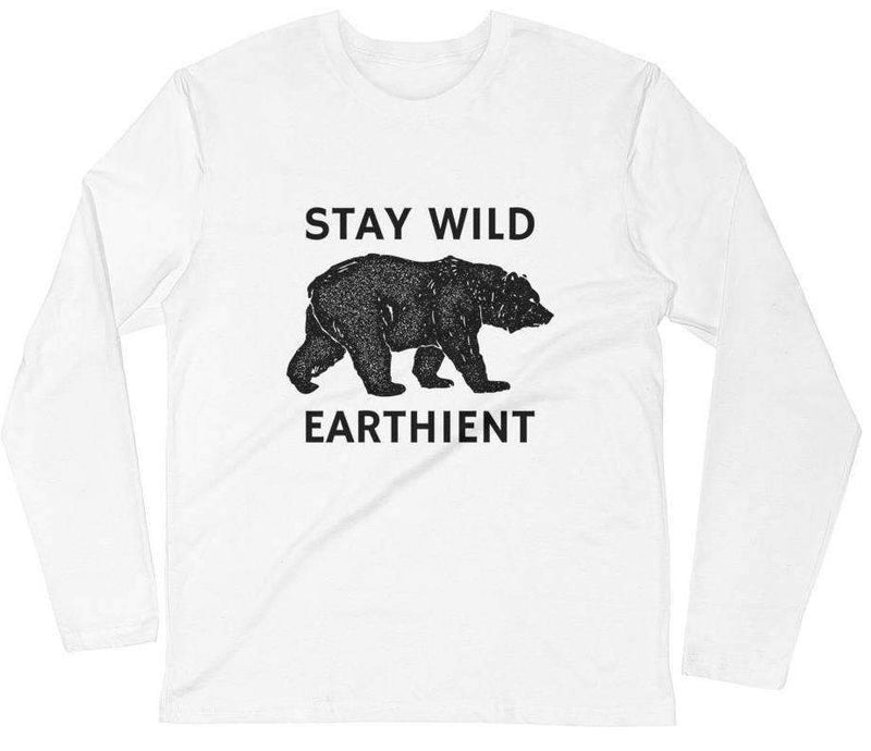 Stay Wild Men's Long Sleeve Tee