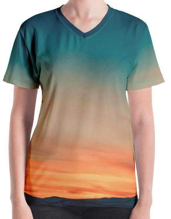 Sunset All-Over Print Women's Tee