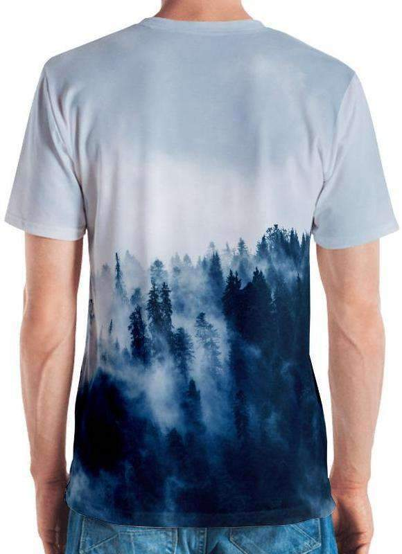 Winter Trees All-Over Print Men's Tee