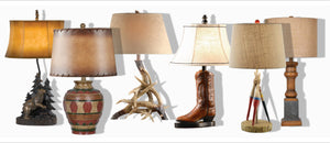 Rustic Cabin Table Lamps
