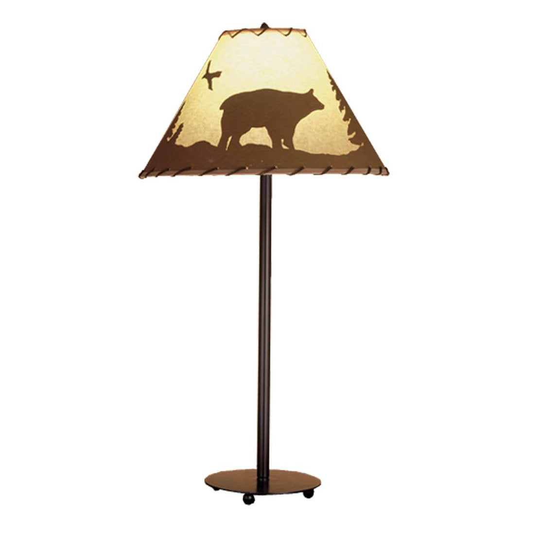 Bear in the Woods Table Lamp