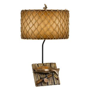 Fishing Trophy Table Lamp