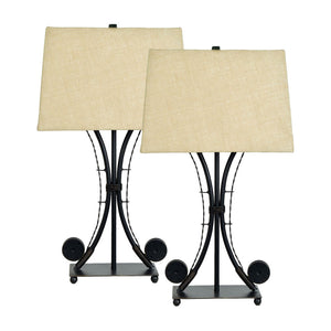 Gone Fishing Table Lamp Set of 2
