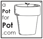 a pot for pot logo