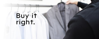 Proper care for your clothes: buying tips, washing tips, storing tips, treating tips