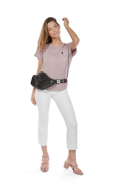 LumberUnion women's t-shirt fanny bag