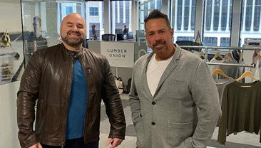 LumberUnion CEO Shane Boudreau and Founder & Chief Development Officer Anthony Bergin