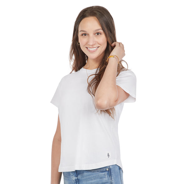 Women's Short-Sleeve Cotton Tee