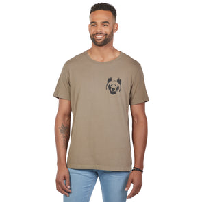 LumberUnion Men's Short-Sleeve 100% Cotton Premium Graphic Tees
