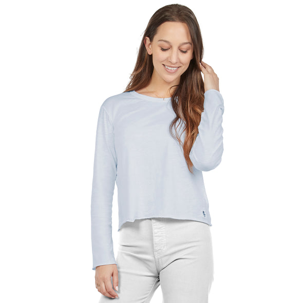 Women's Long-Sleeve Cotton Tee