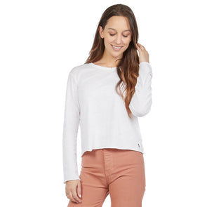 LumberUnion Women's 100% Cotton Premium Long Sleeve Tee