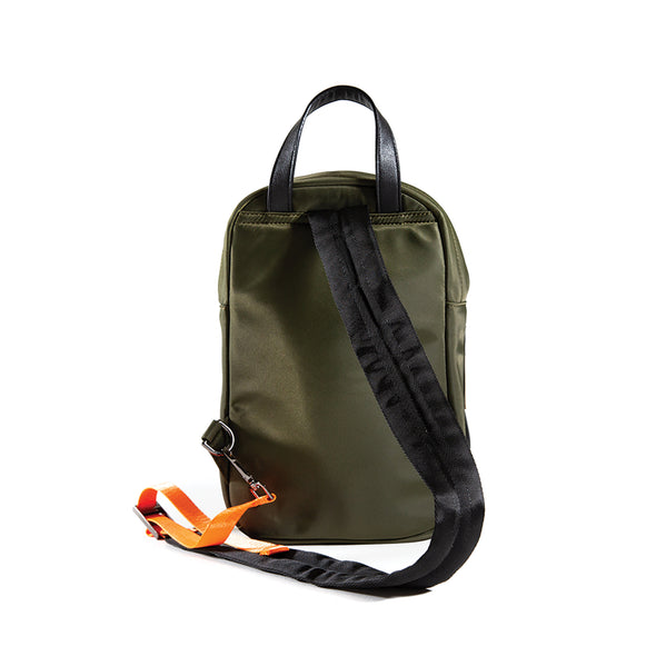 LumberUnion green bag -discovery daybag back
