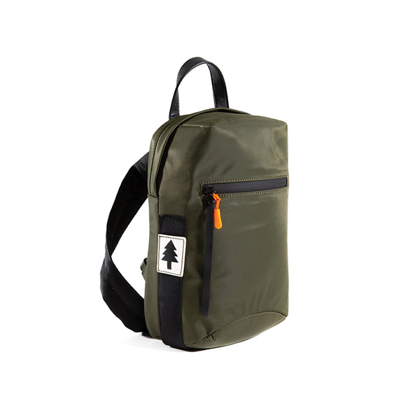 LumberUnion green bag -discovery daybag front