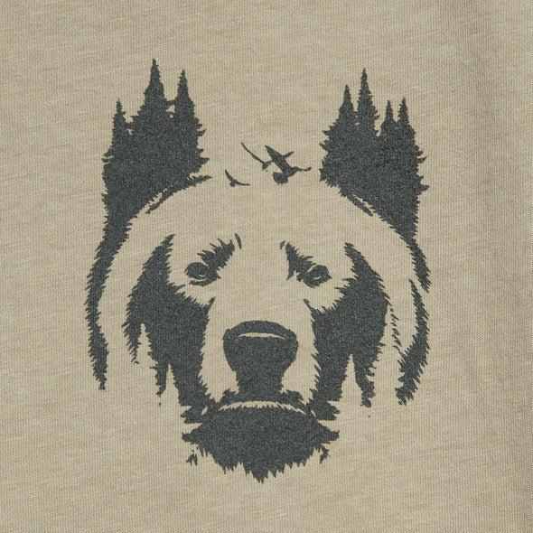 LumberUnion short sleeve graphic tee - bear it all front graphic