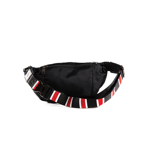 LumberUnion black fanny pack - outdoor festival back