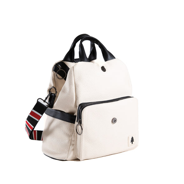 LumberUnion white backpack - skyline convertible bag shoulder bag back