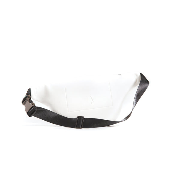 LumberUnion white fanny pack - skyline crossover back