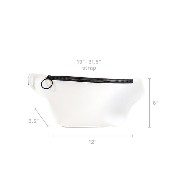 LumberUnion white fanny pack - skyline crossover dimensions