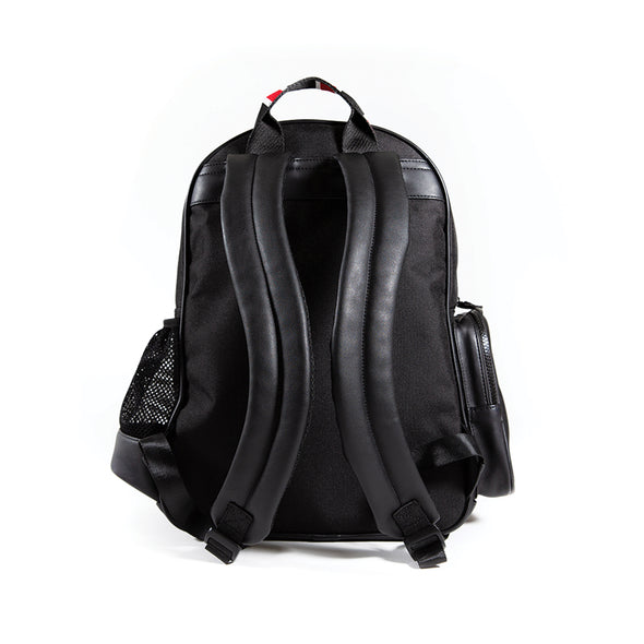 LumberUnion black backpack - urban explorer back