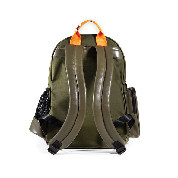 LumberUnion green backpack - urban explorer back