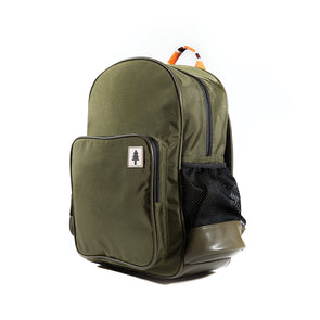 LumberUnion green backpack - urban explorer front right