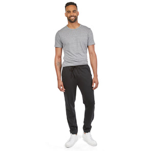 LumberUnion Men's 100% Cotton French Terry Jogger Sweatpants