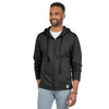 Men's Mt. Hood Cotton French Terry Hoodie Sweatshirt (Black)
