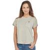 "Women's Short-Sleeve ""Winking Tree"" Graphic Cotton Tee"