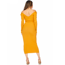 Ribbed Monica Dress