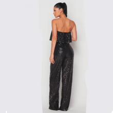 SADE SEQUIN JUMPSUIT