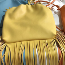 Leather X-Long Fringe Bag (more colors)
