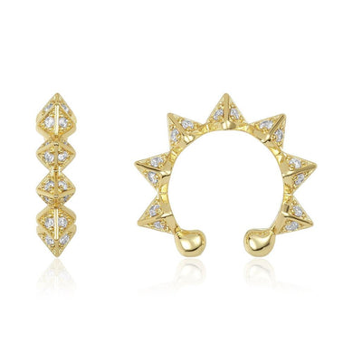 Pyramid Ear Cuff (1 Pc)