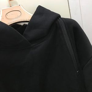 Nadira Hooded Zip Sweatshirt