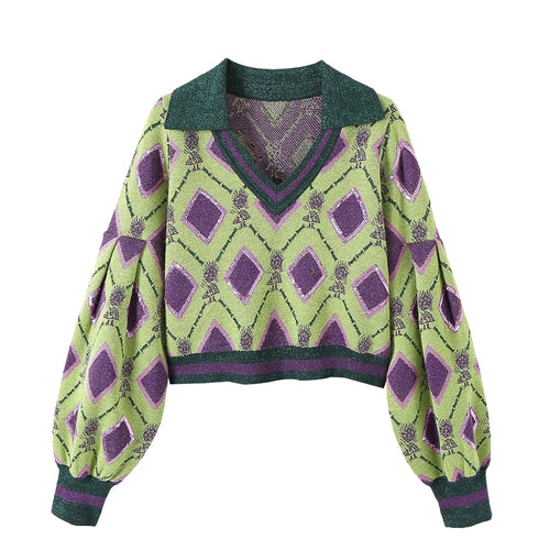 Argyle Vintage Sweater