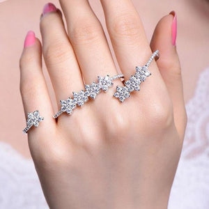 4 Finger Bling Ring