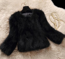 Real Raccoon Fur Coat (more colors available)