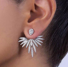 Angel Stud & Jacket Earrings