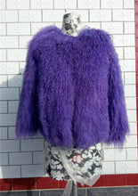 Real Mongolian Fur Jacket