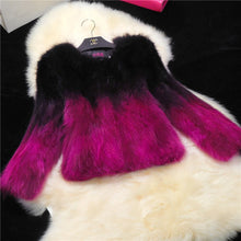 Multi-Color Fur Coat w/Pockets (more colors available)