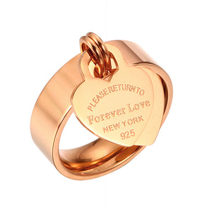 Forever Love Heart Ring