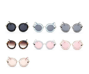 Round Bee Sunglasses