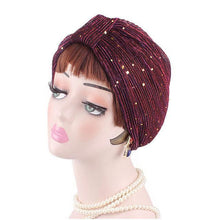 Gold Flake Turban (more colors available)