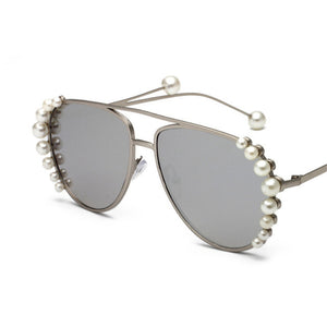 Pearl Framed Aviators
