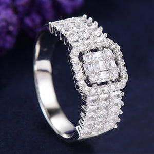 Statement Floating 2-Finger Ring