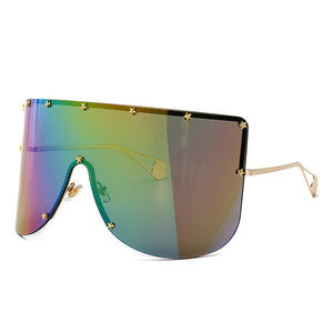 Black Star Shield Sunglasses