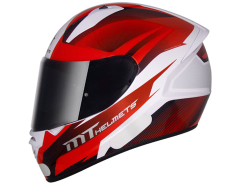 Capacete MT Stinger Divide - White Red