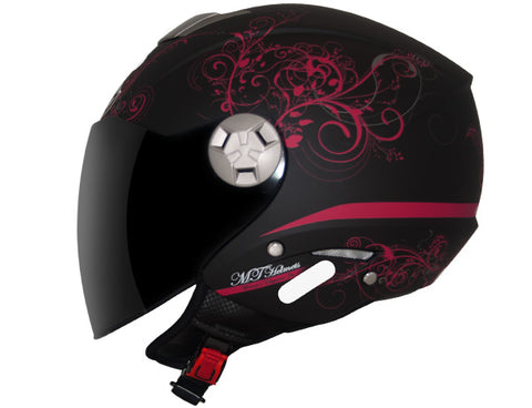 Capacete MT City Eleven - Elegance Matt Black