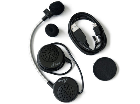 Kit Intercomunicador Alotech Bluetooth M2.1