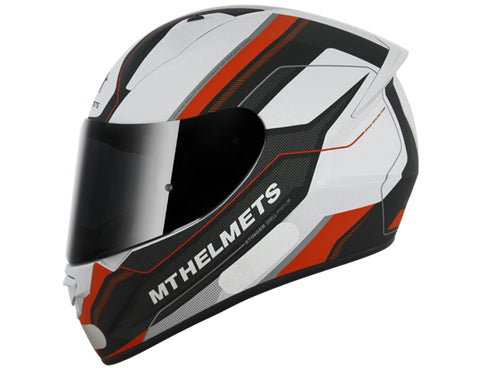 Capacete MT Stinger Pole Matt - White Black